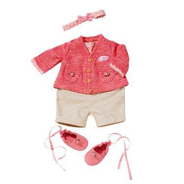 Zapf 4001167793725 Strickset, - Muster Kleidung Puppe