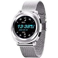 WMWMY Smart Watch Waterproof Bluetooth Smart Watch Sleep Heart Rate Monitoring De La Pression Artérielle Montre Sport Podomètre