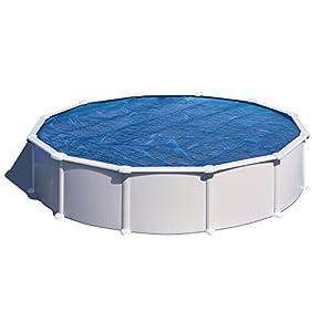 Gre CV450 - Copertura estiva per piscina rotonda tra i 450 e 460 cm di diametro, colore blu