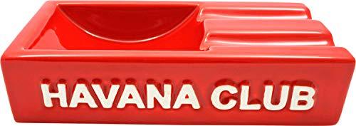 Red rot Aschenbecher für 2 Cigarren. Made in France. ()