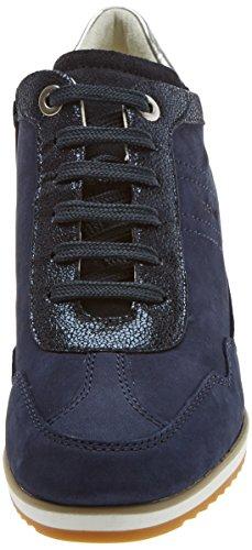 Geox D Illusion B, Sneaker Donna Blu (Navy)