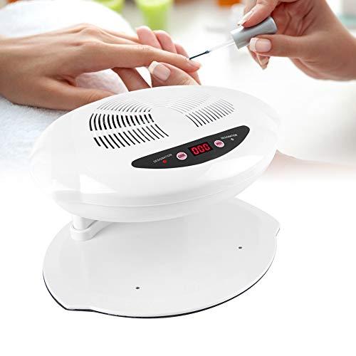 400W Secador de Uñas de Aire Frío y Caliente Profesional con Sensor para...