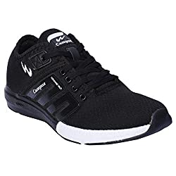 Campus Mens black Running Shoes (Battle 3G-478) (9)