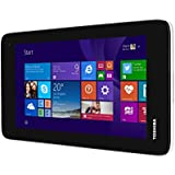 Toshiba Encore Mini WT7-C-100 7-inch Tablet (Silver) - (Intel Atom Z3735G 1.33/1.83GHz, 1GB RAM, 16GB Memory, Windows 8.1) with Free Windows 10 Upgrade