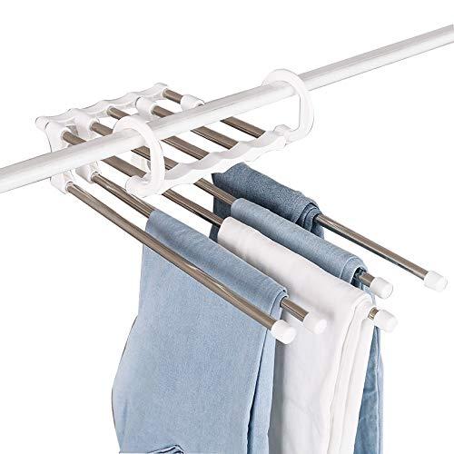 S Pants Mehrschichtige Rutsch Kleiderbügel Rack Kreative Multifunktions Weiße Hose Rack