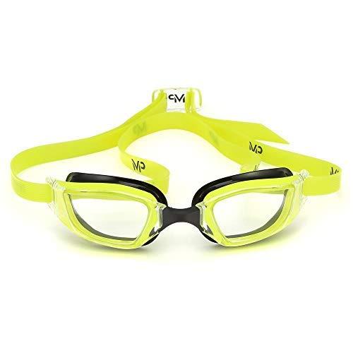 MP - Michael Phelps Xceed Schwimmen Brille - Gelb/Schwarz/Klar, N/A