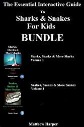 The Essential Interactive Guide To Sharks & Snakes for Kids Bundle (English Edition)