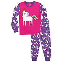 Harry Bear Girls Unicorn Pyjamas Snuggle Fit