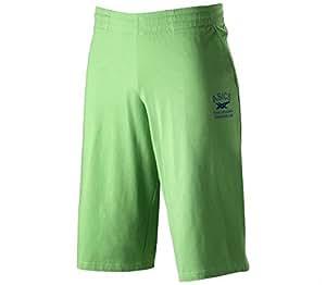 Asics Men's Knit Shorts - Power Green, Small
