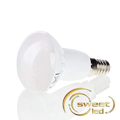 sweet-led LED Reflektorlampe E14, R50, 120° Abstrahlwinkel, 5W, Warmweiß