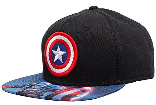 Captain America The Winter Soldier Black Unisex Cap