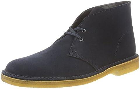 Clarks Originals Herren Desert Boot, Blau (Midnight), 44.5 EU