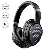 Mpow H16 Casque Bluetooth Reduction de Bruit Active, sur l'oreille 2 Heures de Charge...