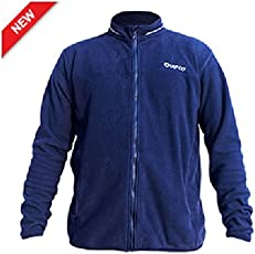 QUIPCO Tundra Fleece Pullover Jacket - Color Navy Blue - Size Small