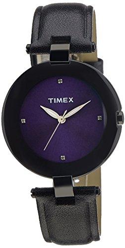 Timex Fashion Analog Purple Dial Women's Watch - J403 image
