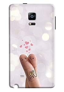 Samsung Galaxy Note Edge Cover KanvasCases Premium Designer 3D Printed Lightweight Hard Back Case