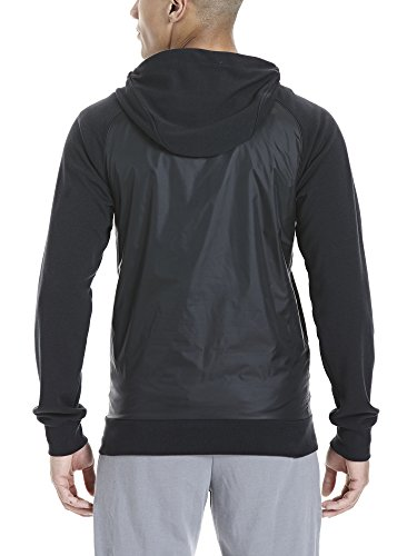 Bench Herren Kapuzenjacke Fabric Mix Hoody Black