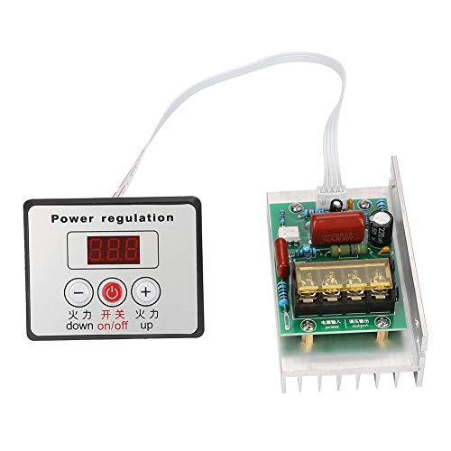 Akozon Motor Drehzahlregler AC 220 V 8000 Watt Elektronische Regler High Power SCR Drehzahlregler Motor -