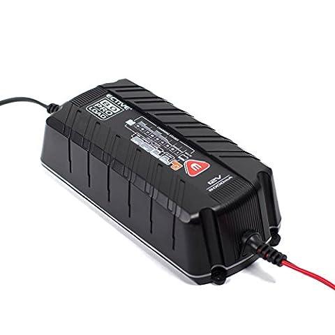 ECTIVE PROLOAD | 12V Batterieladegerät | 2 Varianten: 4A und 8A | Autobatterie-Ladegerät und Motorradbatterie-Ladegerät von 5 - 105 Ah | Batterie Ladegerät für Motorrad und Auto, PKW-Ladegerät, KFZ-Batterieladegerät, Automatik (Pkw Batterieladegerät)