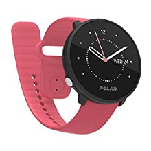 Polar Unisex's Unite Fitness Watch, Pink, S-L