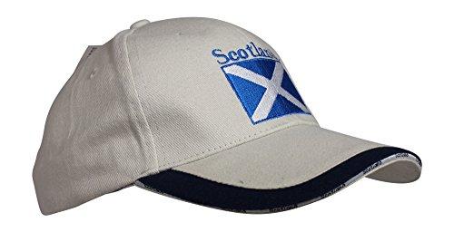Glen Appin of Scotland Farbe Stein Baumwolle Schottland Saltire Baseball Golf Cap Baseball-stein
