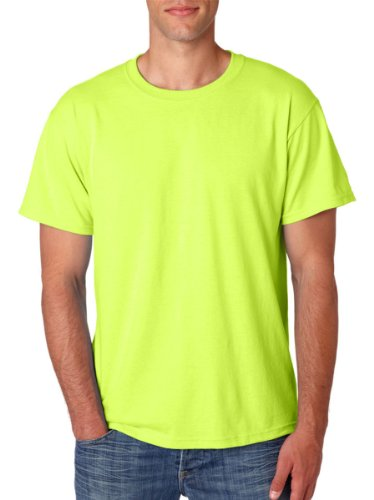 JerzeesHerren T-Shirt Safety Green