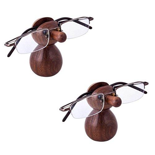 Stylla London® Handgefertigtes 2er Set aus 2 Nud Form Lesebrille Halter Ständer Ständer ungewöhnliches Geschenk für Männer und Frauen