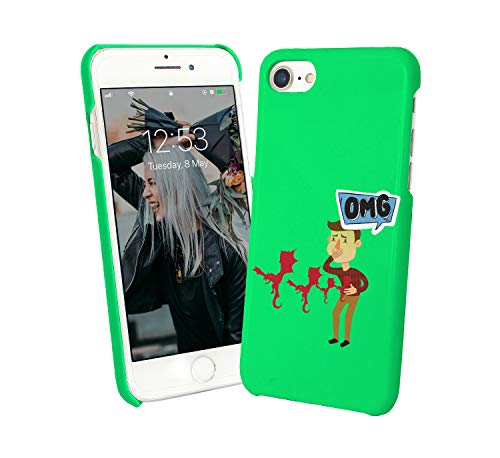 4130a0b5f7d Dragons Fly from Stomach OMG Funny 006521 Phone Case Cover Carcasa De  Telefono Estuche Protector para For