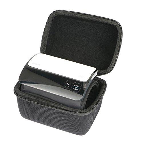 Hart Fall Reise Tragen Tasche von Khanka für Omron EVOLV All-in-One, digitales Oberarm-Blutdruckmessgerät HEM-7600T-E EVA Digitale Reise-tasche