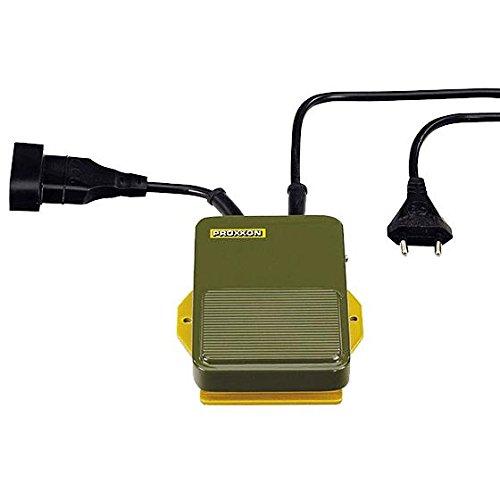 PROXXON 28700 Fußschalter FS für Geräte mit Eurostecker bis max. 500 Watt