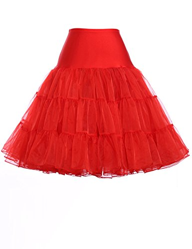 1950s Petticoat Unterrock Crinoline Reifrock Underskirt Vintage Rock Kurz Swing Rock Übergröße - 1950 Kostüm Für Übergröße