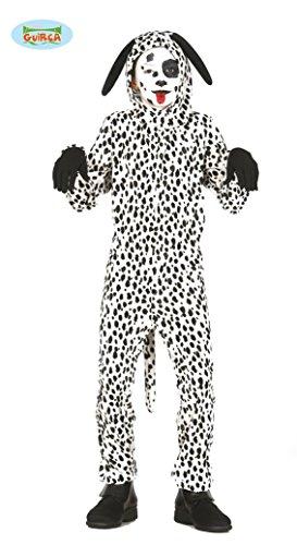 Guirca Dalmatiner Kostüm für Kinder Kinderkostüm Tier Hund Hundekostüm Gr. 98-146, Größe:140/146