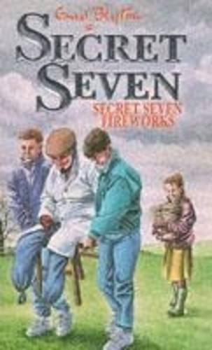 Book cover for Secret Seven Fireworks