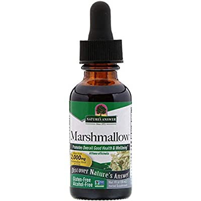 Nature's Answer Marshmallow Root, Alcohol Free, 1 Oz by Nature's Answer