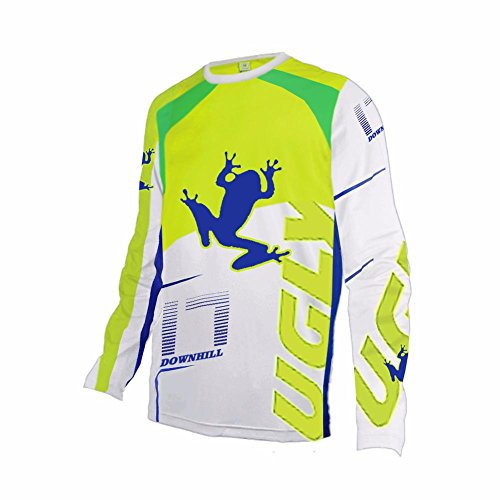 Uglyfrog  02 Bike Wear Mens Spring Rage MTB Downhill Jersey  Cycling Motocross Mountain Bike Long Sleeve Shirt - Buy Online in Oman.  21730612a