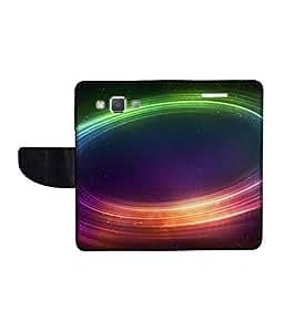 KolorEdge Printed Flip Cover For Samsung Galaxy A5 Multicolor - (50KeMlogo10186SamA5)