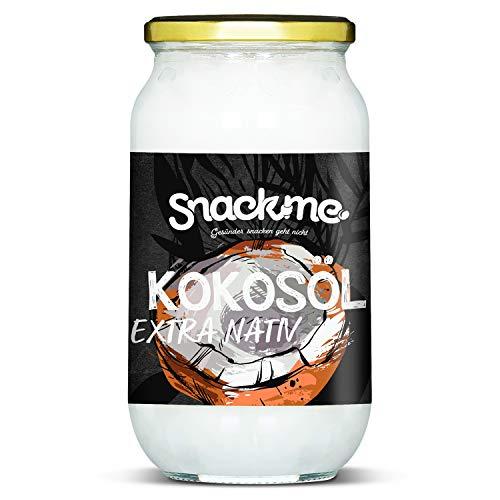 Bio Kokosöl Kokosnussöl Kokosfett extra virgin nativ kaltgepresst 1000ml Rohkost-Qualität vegan Sri Lanka reich an Laurinsäure unraffiniert -