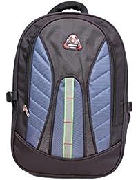 D-Bag Light Blue & Black Colour 40 Ltrs School Bag Backpack P (0.4)