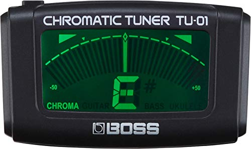 BOSS TU-01 Accordatore & Metronomo Clip-On