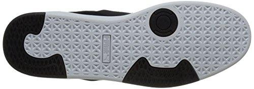 Puma Suede S Lace-up Fashion Sneaker Black/White Modern Tech