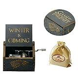 wishing Boîte à Musique gravé en Bois Boîte décorative Cadeaux de Noël (Game of Thrones)