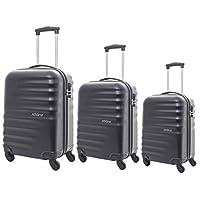 AMERICAN TOURISTER PRESTON (55-66-77) 3 pc set TSA Trolley Luggage
