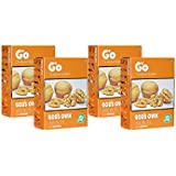 GO Organic Light Broken Walnuts (Without Shell) 1Kg (250gm x 4)