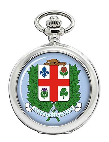 Montreal (Canadá) Reloj Bolsillo Hunter Completo