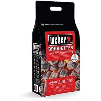 Weber 17593 – Saco de 4 kg de briquetas