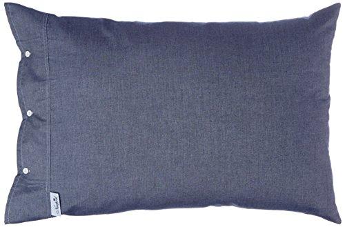 Pinpoint Oxford (Newport Chambray 9324-2012 Kissenbezug, Baumwolle, Pinpoint Oxford, 70 x 50 cm, Blau)