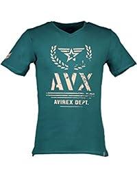 AVX AVIREX DEPT AVBWTS02THUN T-Shirt Maniche Corte Uomo 6a8ccad5b721