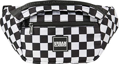 Urban Classics Top Handle Shoulder Bag Umhängetasche, 33 cm, Black/White