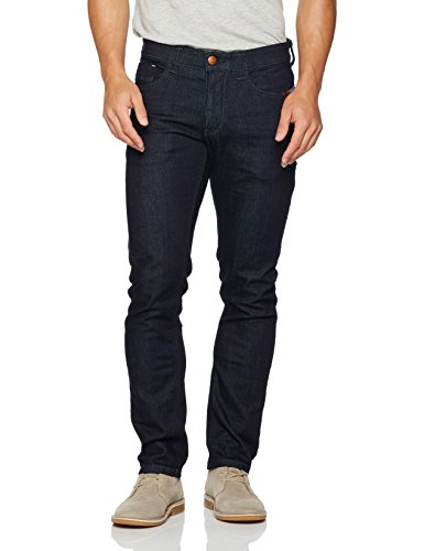 camel active Herren Slim Jeans Blau (RAW DENIM 42)