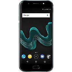 Wiko Wim Smartphone débloqué 4G (Ecran: 5.5 pouces - 64 Go - Double Micro-SIM - Android 7.0) Bleu
